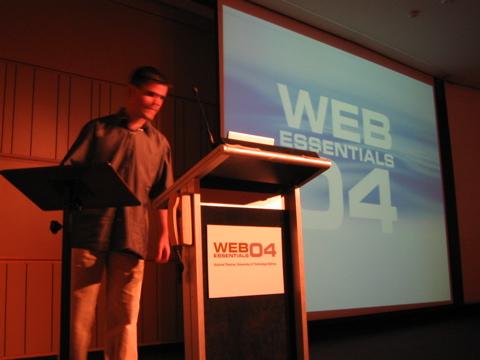 Shea at WE04