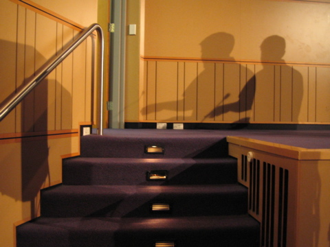 Speaker shadows