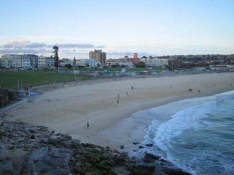 Bondi after sunset