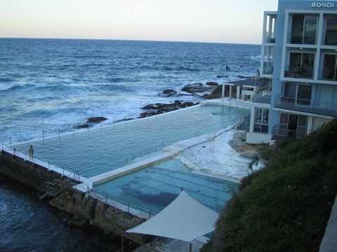 Pool at Bondi Icebergs