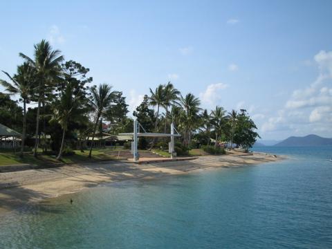 Daydream Island, dockside