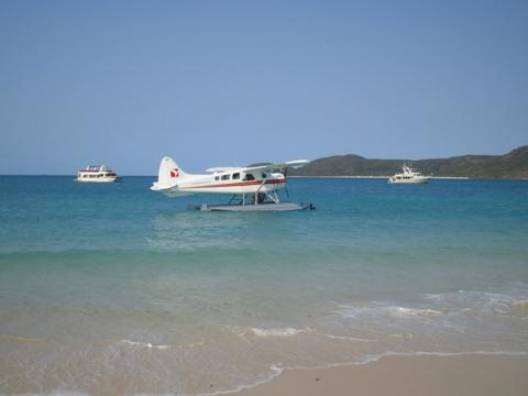 Landing at Whitehaven
