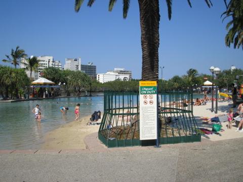 Lagoon at Brisbane