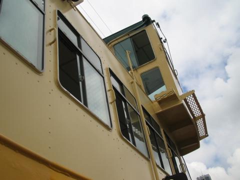 Ferry control cabin