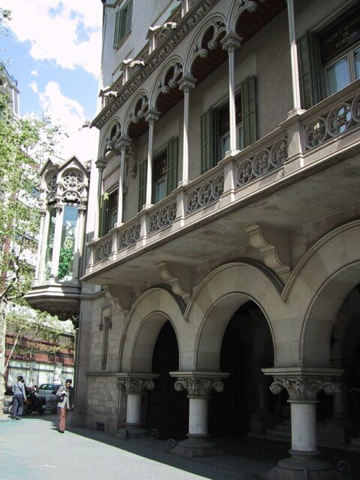 Fanciful architecture, Barcelona