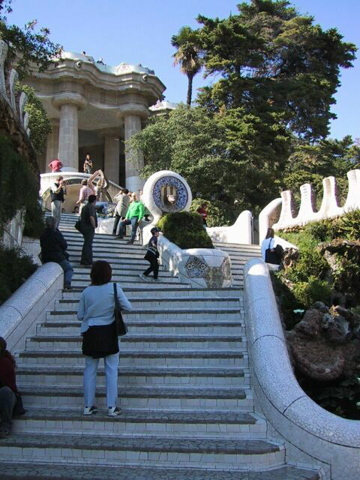 Stairs at Park Guell