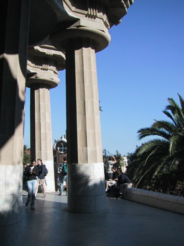 Columns at Park Guel