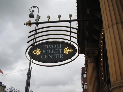 Tivoli ticket center