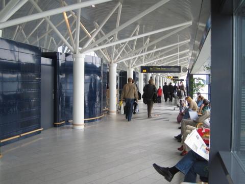 Copenhagen airport gates