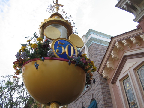 Disneyland turns 50