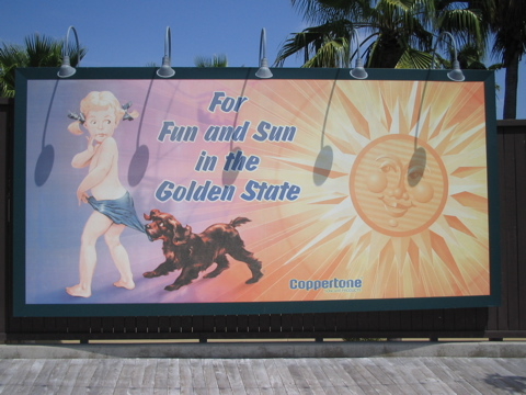 Coppertone billboard