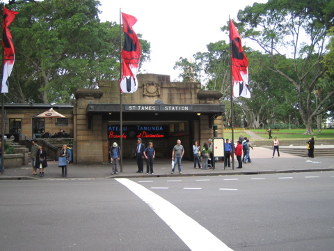 St James Station