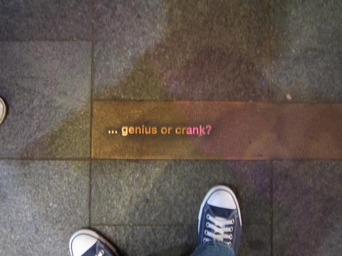 ... genius or crank?