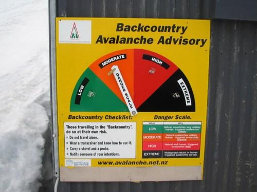 Avalanche Advisory