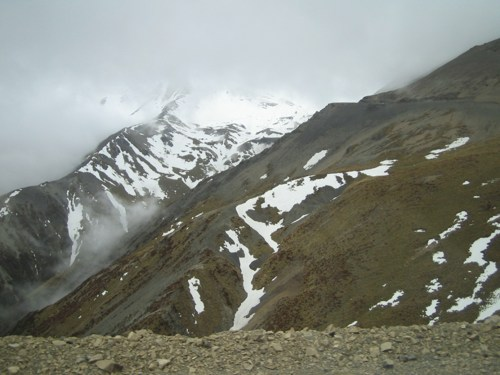 Approaching Mt Hutt