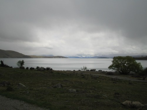 Cloudy Lake Tekapo