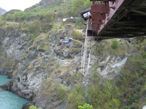 Jumping at Kawarau