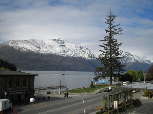 Queenstown hotel view