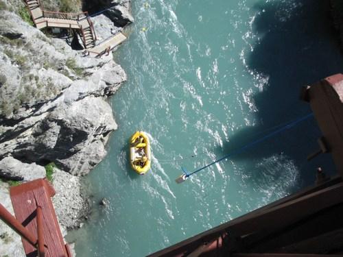 Down from the Kawarau Bridge
