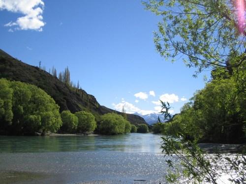 Kawarau River's edge