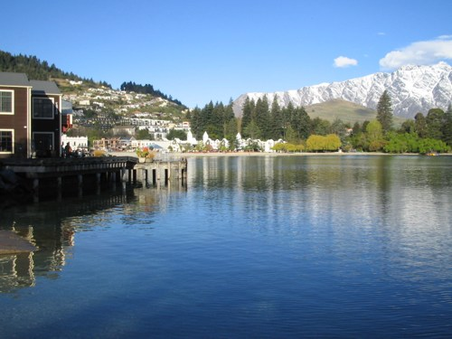 Queenstown on the lake
