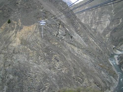 Suspended Nevis jump pod