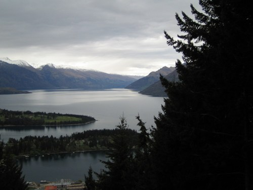 Lake Wakatipu from the Gondola