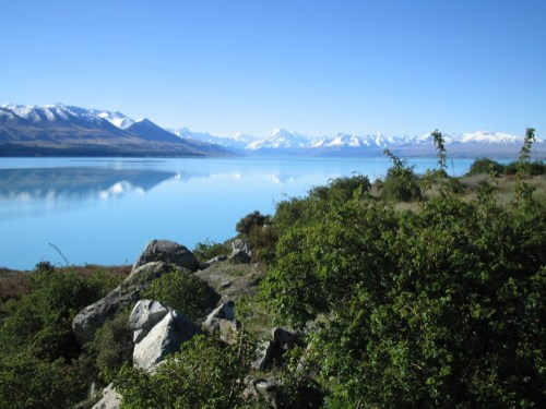 Pukaki reflections