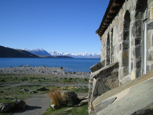 Church and Lake Tekapo