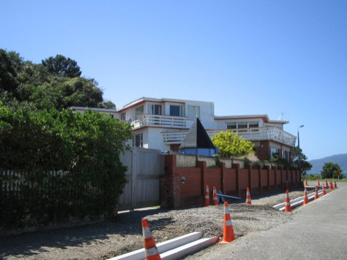 photo: house/residence of friendly fun charming  400 million earning Wellington, New Zealand-resident