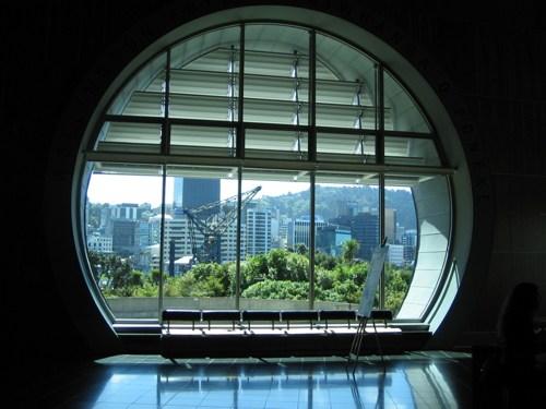 Te Papa window