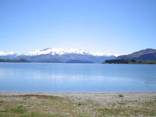 Lake Wanaka's blueness