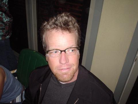 Veen in glasses