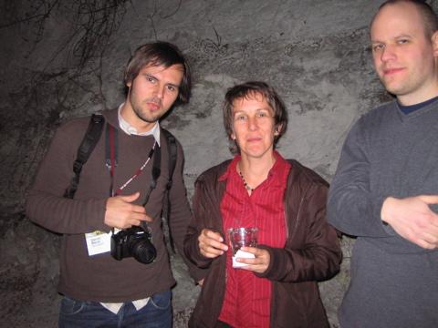 Daniel, Maxine, Dan